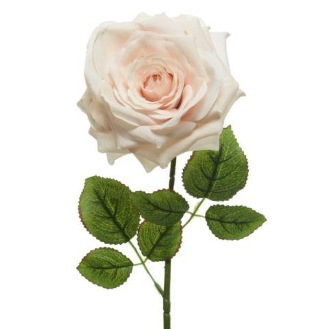 Kunstlill roos heleroosa 53cm