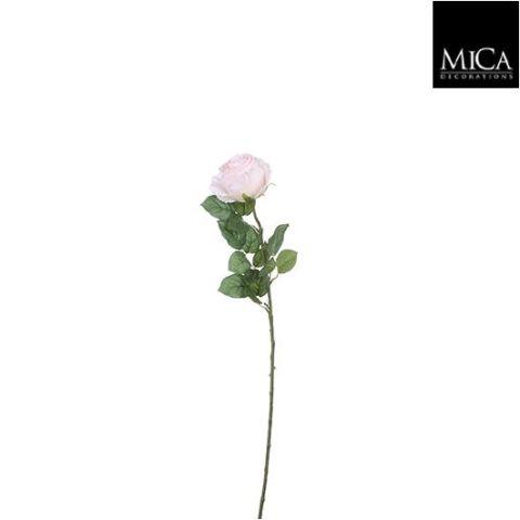 Kunstlill roos roosa - l69cm