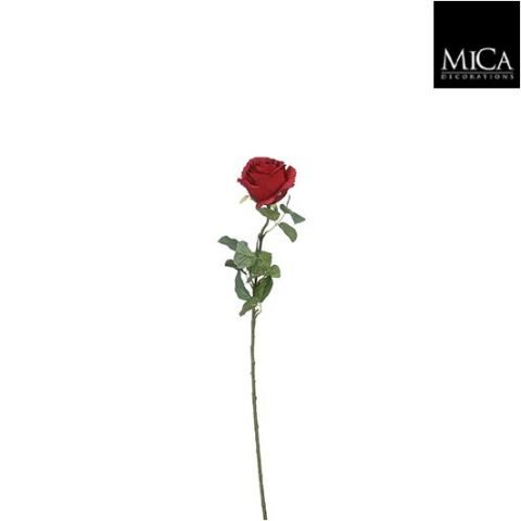 Kunstlill roos punane -  l69cm