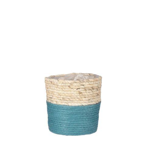 Korv Rachel sinine - h18xd18cm