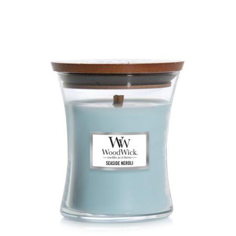 Woodwick küünal Seaside Neroli Medium Jar