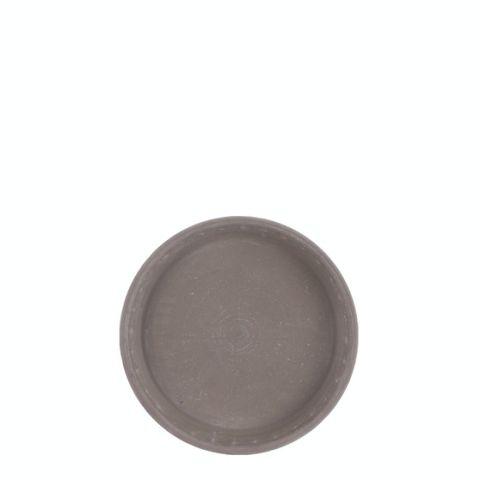 Savipoti alus hall basalt D18cm