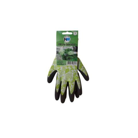 HW Lily töökindad rohelised 8