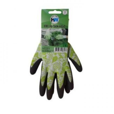 HW Lily töökindad rohelised 9