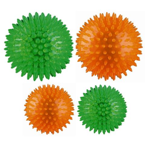 Koera mänguasi Hedgehog Ball 12cm