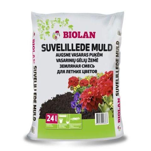 BIOLAN Suvelille muld 24 l