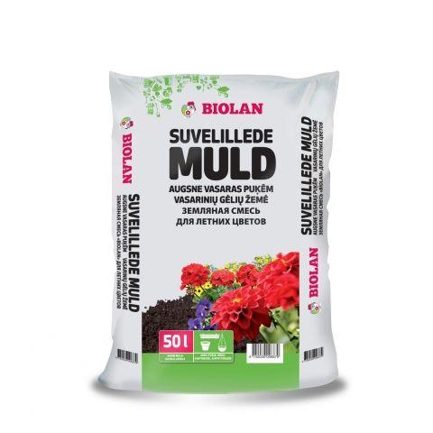 BIOLAN Suvelille muld 50 l