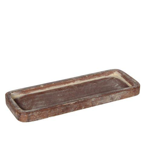 Potialus Kane terrakota kandiline 25,5 cm  x 9,5 cm  x 2 cm