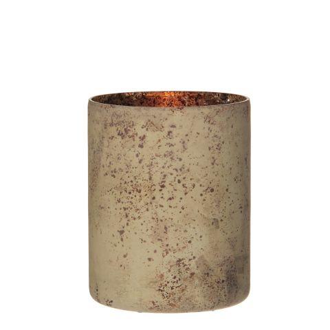 Küünlaalus vask h13xd10cm