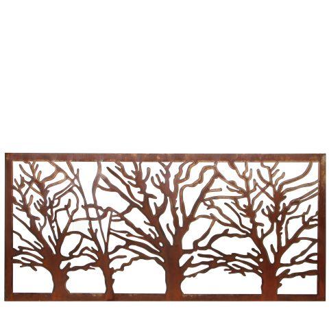 Seinapaneel puud 118x54cm rooste