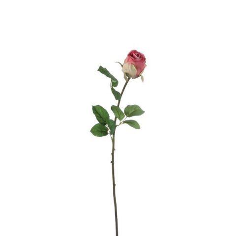 Kunstlill roos fuksia 69cm