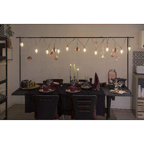 MICA Söögilaua külge keeratav raamistik dekoratsioonideks pikkus 223cm, kõrgus 110cm