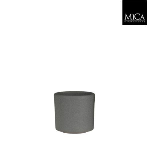 MICA Pott Era helehall matt  h9 x d10,5 cm