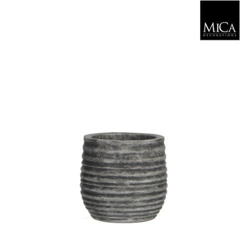 MICA Pott Magnus tumehall kõrgus 15 diameeter 16,