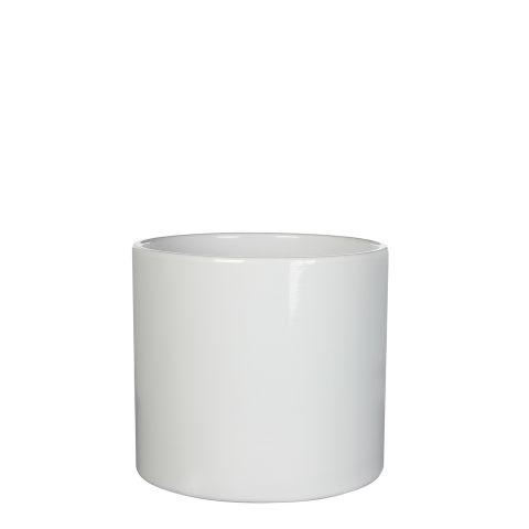 MICA Pott ERA valge kõrgus 10 cm diameeter 12 cm