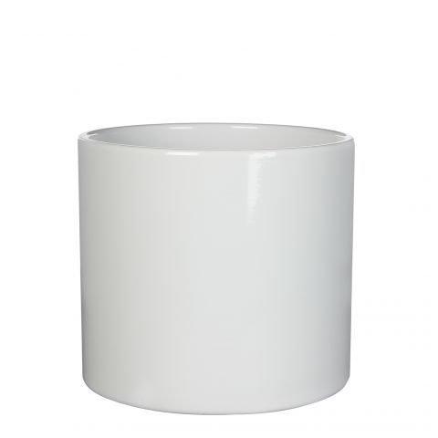 MICA Pott ERA valge kõrgus 17,5 cm, diameeter 19,5 cm
