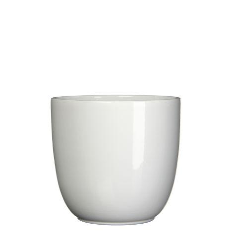 MICA Pott TUSCA valge kõrgus 20 cm x diameeter 22,5 cm