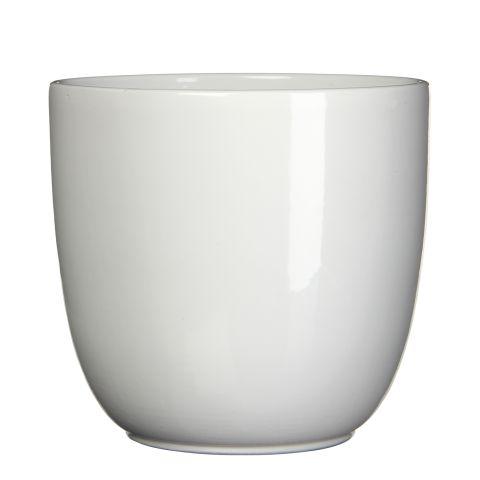 MICA Pott TUSCA valge kõrgus 31,5 cm x diameeter 35 cm