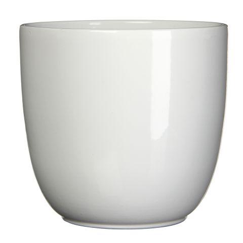 MICA Pott TUSCA valge kõrgus 34,5 cm x diameeter 39 cm