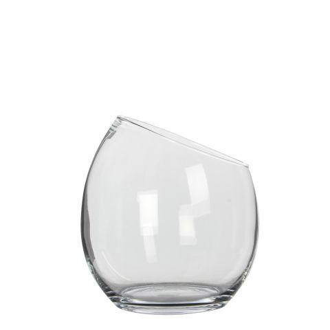 MICA Klaasist Vaas Kathi läbipaistev kõrgus 25 cm diameeter 22,5 cm