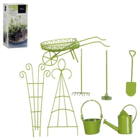 MICA mini aed roheline 8 osa