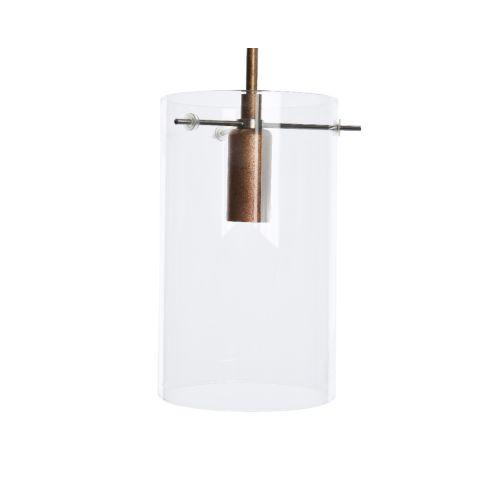 Lamp klaasist silinder 12 x 12 cm