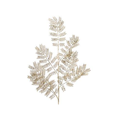 Jõuluehe Lehtedega oks kuldne 16x75cm