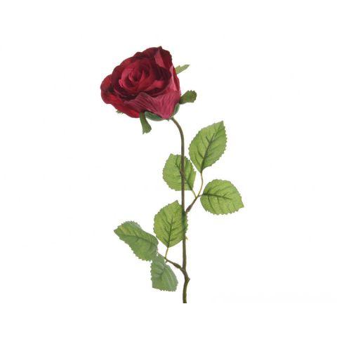 Kunstlill roos d7x45cm