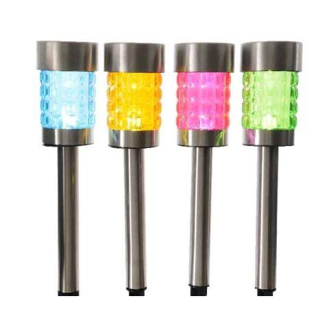 Aia.valg LED solar värviline 9,5x9x50