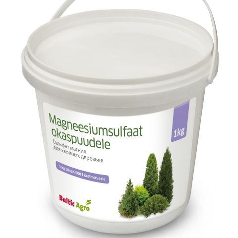 BALTIC AGRO Magneesiumsulfaat okaspuudele 1 kg