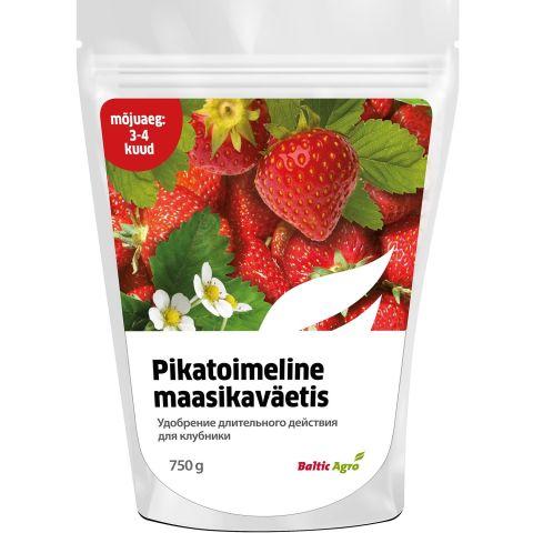 BALTIC AGRO Pikatoimeline maasikaväetis 3-4 kuud 750 g