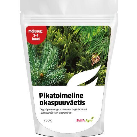 BALTIC AGRO Pikatoimeline okaspuuväetis 3-4 kuud 750 g