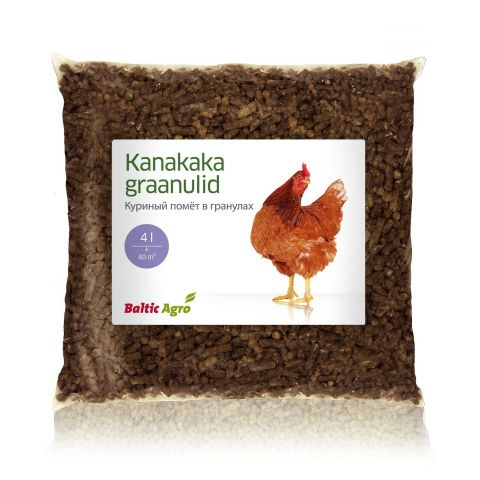 BALTIC AGRO Kanakaka graanulid 4 l