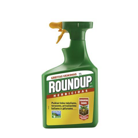 Roundup Quick, kasutusvalmis lahus, pihustiga pudelis