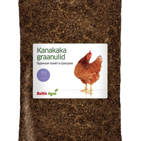 BALTIC AGRO Kanakaka graanulid 10 l