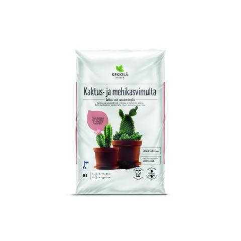 KEKKILÄ Kaktuse- ja sukulendimuld 6l