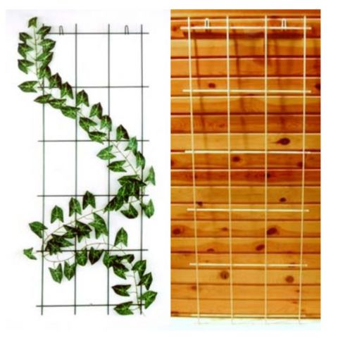 LÄÄNE RISTI Lilleredel roheline 57,5x150cm