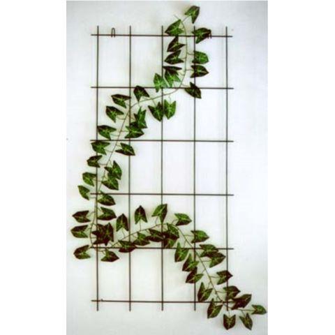 LÄÄNE RISTI Lilleredel roheline 75x150cm