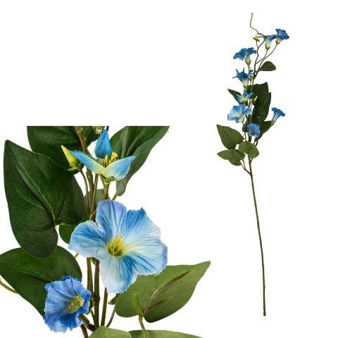 Kunstlill Petuunia sinine 79 cm