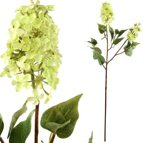 Kunstlill hortensia roheline