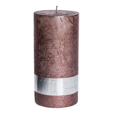 Küünal metalne pruun d5xh12cm