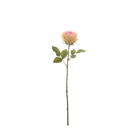 Kunstlill roos heleroosa 52 cm