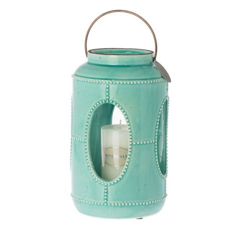 RIVERDALE Latern Saintes mint 31 cm