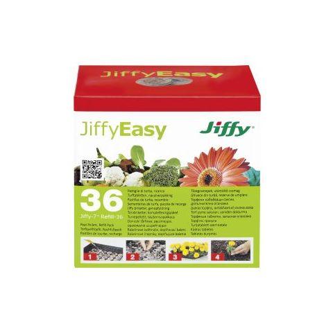 JIFFY Turbatabletid 38 mm 36 tk pakendis