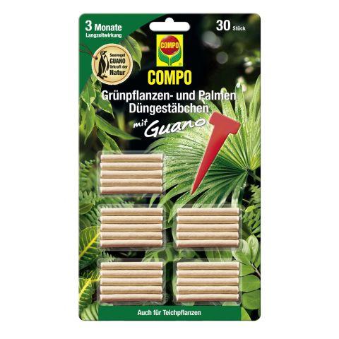 COMPO Väetisepulgad rohelistele taimedele 30tk