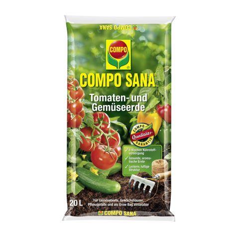 COMPO tomati ja köögiviljamuld 20 L