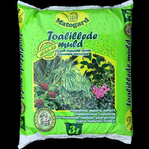 Matogard Toalillede muld 3l pH 5,6-6,5