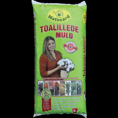 Matogard Toalillede muld 6l pH 4,6-5,5