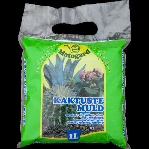 Matogard Kaktuse muld  1l pH 5.6-6,5