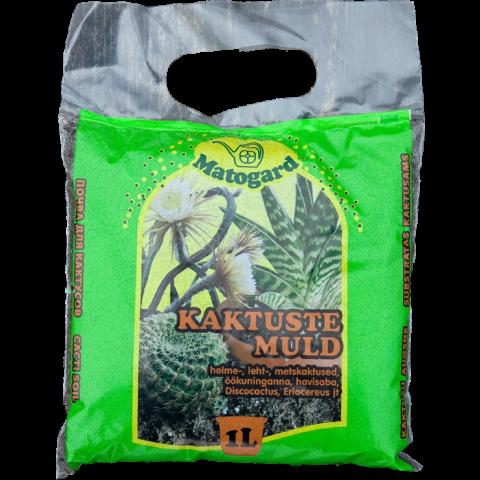 Matogard Kaktuse muld 1l  pH 4,6-5,5